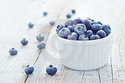 Healthy forest fruit blueberry