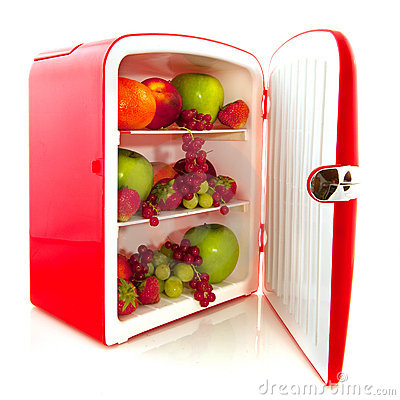 Healthy fridge for diet