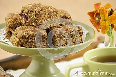 Healthy granola squares