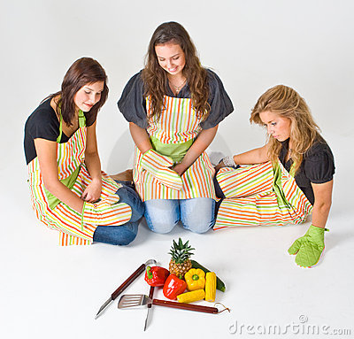 Healthy grill preparation