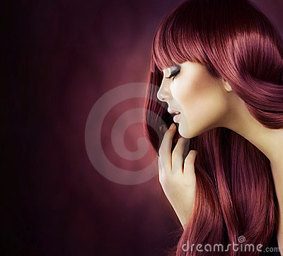 Healthy Hair Stock Images - Image: 22311104