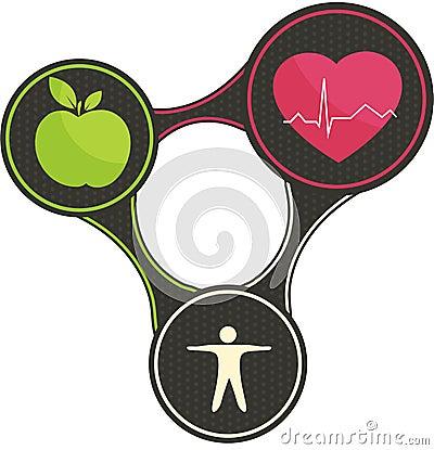 Free Healthy Heart Triangle Royalty Free Stock Photography - 32807697