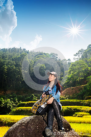 Free Healthy Lifestyle Woman Smiling Outside Royalty Free Stock Photo - 38334675