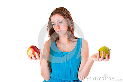 Healthy lifestyle of young woman