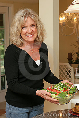 Free Healthy Living - Salad Stock Photography - 720332