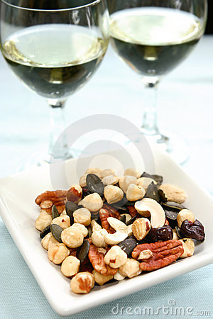 Healthy nut assortement