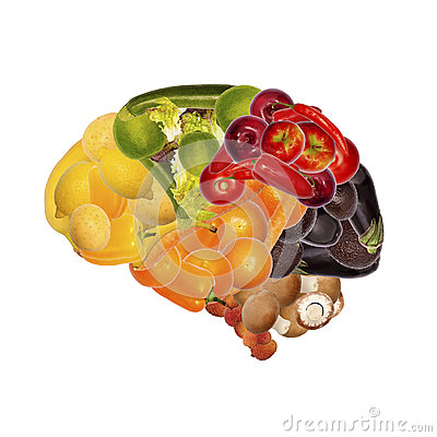 Free Healthy Nutrition Is Good For Brain Stock Photography - 38425802