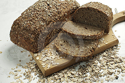 Healthy organic bread