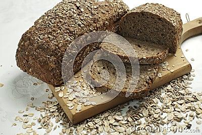Healthy organic bread