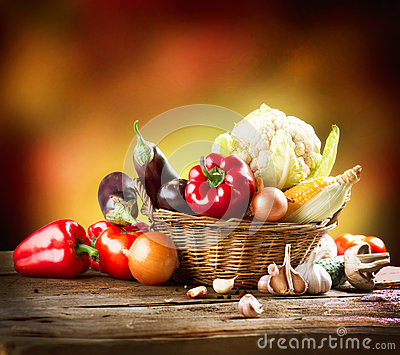 Healthy Organic Vegetables