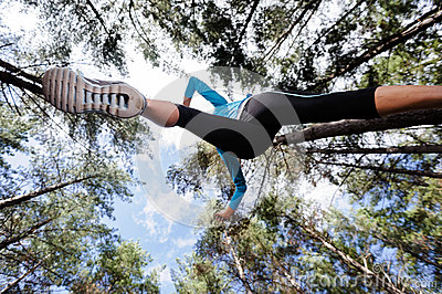 Healthy runner lifestyle