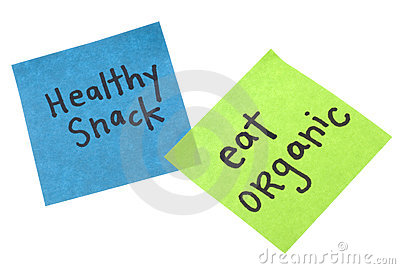 Healthy Snack Eat Organic