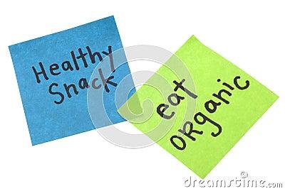 Healthy Snack Eat Organic