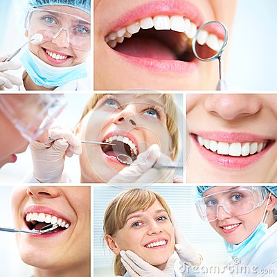 Free Healthy Teeth And Dental Doctor Stock Photos - 25073093