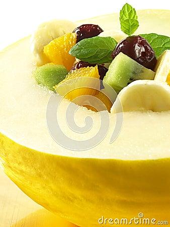 Healthy vegan dessert, closeup