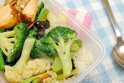 Healthy Vegetables For Packed Lunch Stock Photography - Image: 14362322