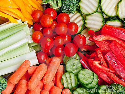 Healthy Vegetables Plate