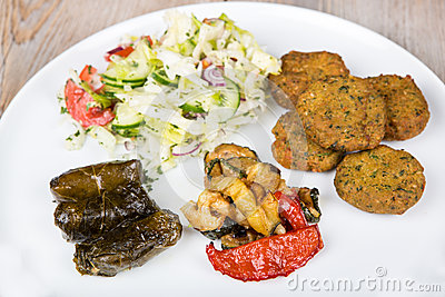 Healthy vegetarian lunch or dinner stock images image 30014894 - Healthy greek recipes for dinner mediterranean savour ...