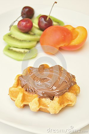 Healthy versus unhealthy breakfast