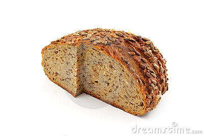 Healthy wholemeal bread