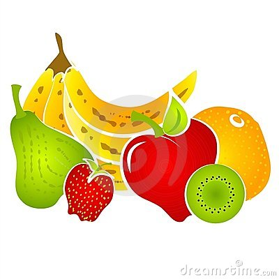 Free Healty Food Fruit Clip Art  Royalty Free Stock Photo - 2887285