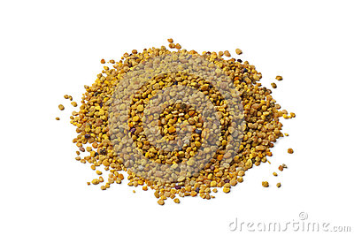 Heap of bee pollen