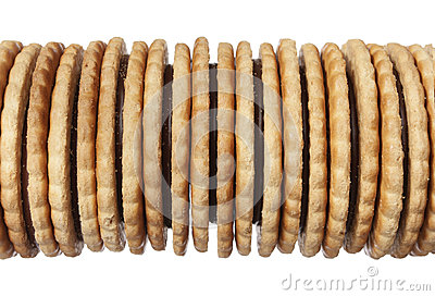 Heap of biscuit