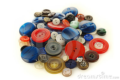 Heap of the buttons