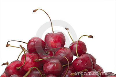 Heap of cherries