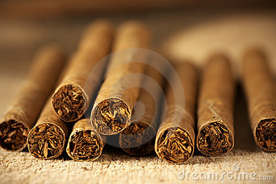 Heap of cigars