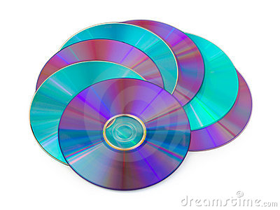 Heap of computer disks