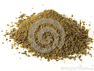 Heap of cumin