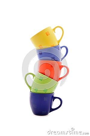 Heap of cups