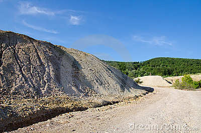 Heap Of Geology Material Royalty Free Stock Photos - Image: 20798828