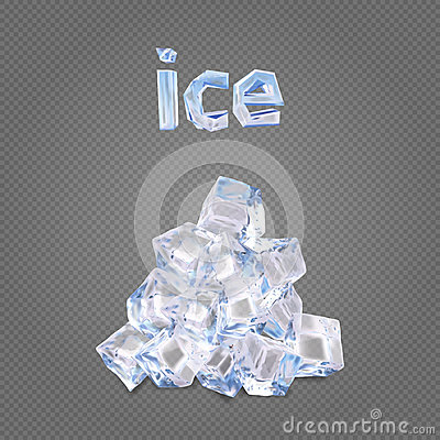 Free Heap Of Ise Cubes Royalty Free Stock Photography - 89366317