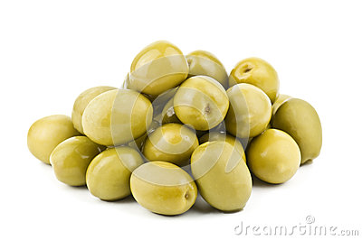 Heap of olive