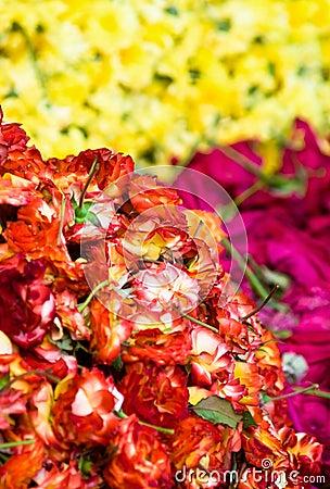 Heap roses