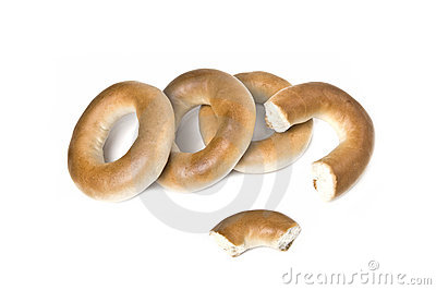 Heap of small bagels