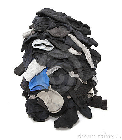 Heap of socks