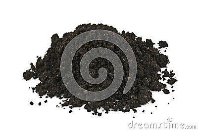 Heap of soil