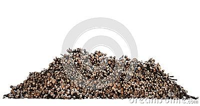 Heap of timber