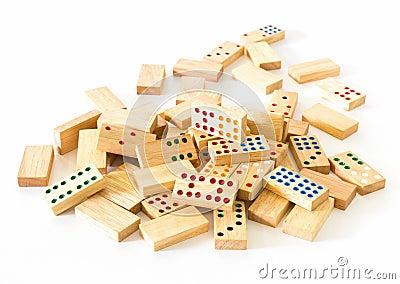 Heap Wooden domino