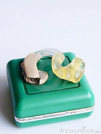 Free Hearing Aid Stock Photography - 14446802
