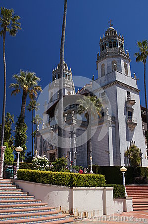 Hearst Castle Editorial Stock Photo