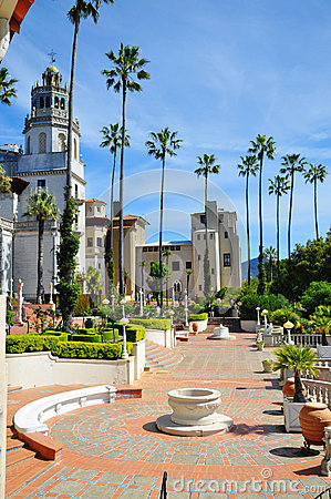 Free Hearst Castle Royalty Free Stock Image - 30590826