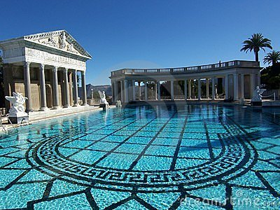 Hearst Castle Swimming Pool Editorial Stock Photo Image 6202248
