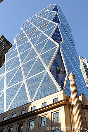Hearst Tower Royalty Free Stock Image - Image: 16143236