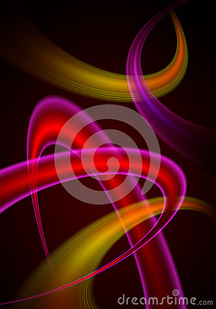 Heart abstract background.