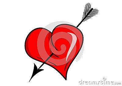 Heart arrow