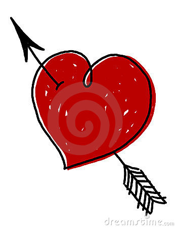 Heart with Arrow illustration